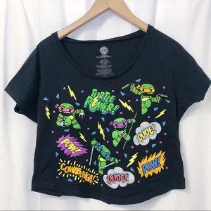 Tops - Crop top Ninja Turtles shirt, junios Large size